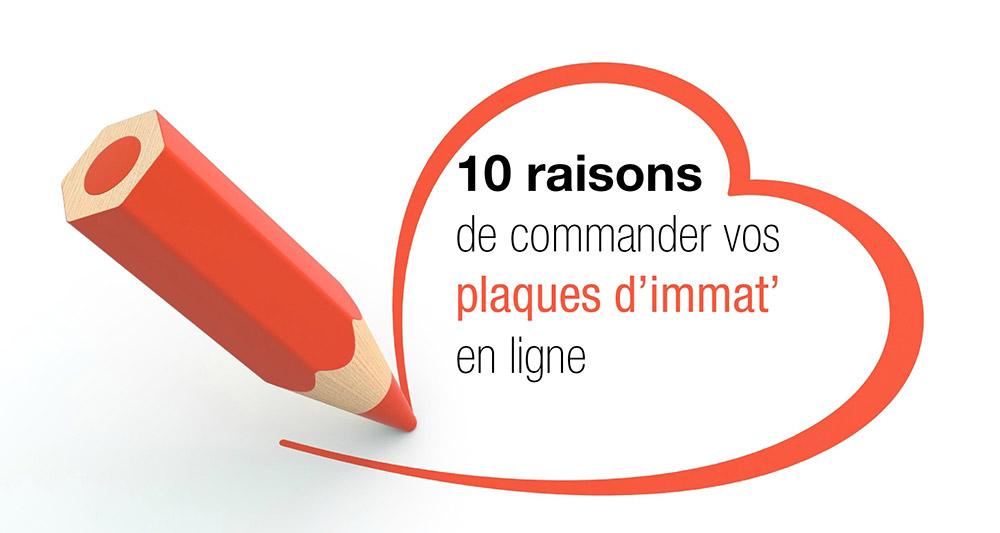 10 raisons d'acheter ses plaques d'immatriculation sur cmaplaque.fr