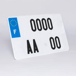 plaque moto FNI