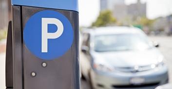 parking gratuit grâce à la plaque d'immatriculation
