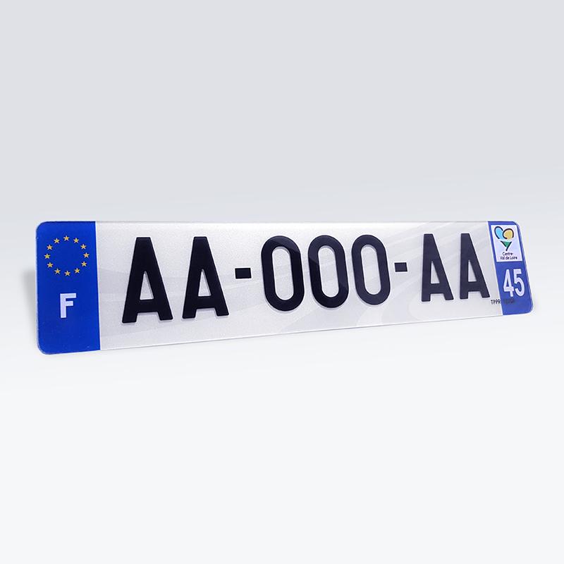 Plaque Immatriculation Voiture : plaque immatriculation 3d en plexiglass pour voiture ~ Melissatoandfro.com Idées de Décoration